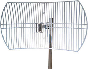 Антена TP-Link TL-ANT2424B, 2.4ГГц, 24дБі, спрямована, зовнішня, сіткова параболічна