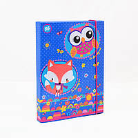 Папка для тетрадей картоная В5 Charming animals