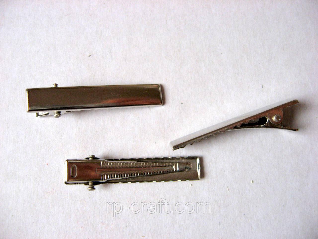 Заколка для волос, 7х41 мм