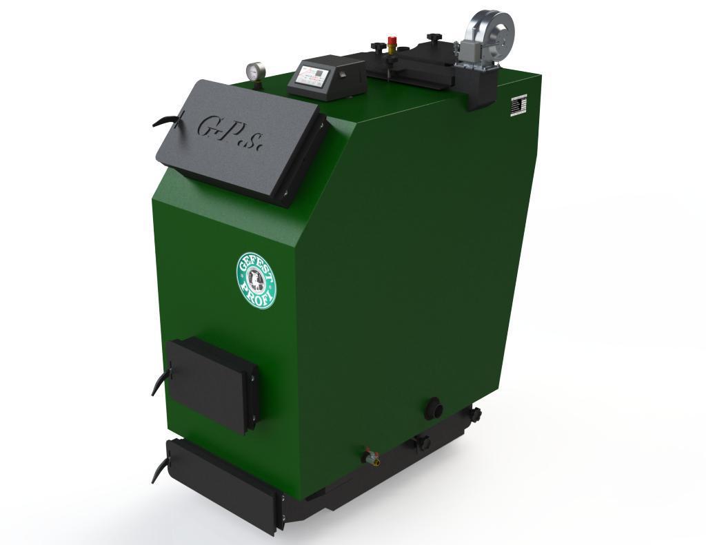 Пиролизные газогенераторные котлы на твердом топливе Gefest-Profi S 40 (Гефест профи С)