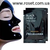 Маска - пленка от угрей, прыщей и черных точек Black Mask