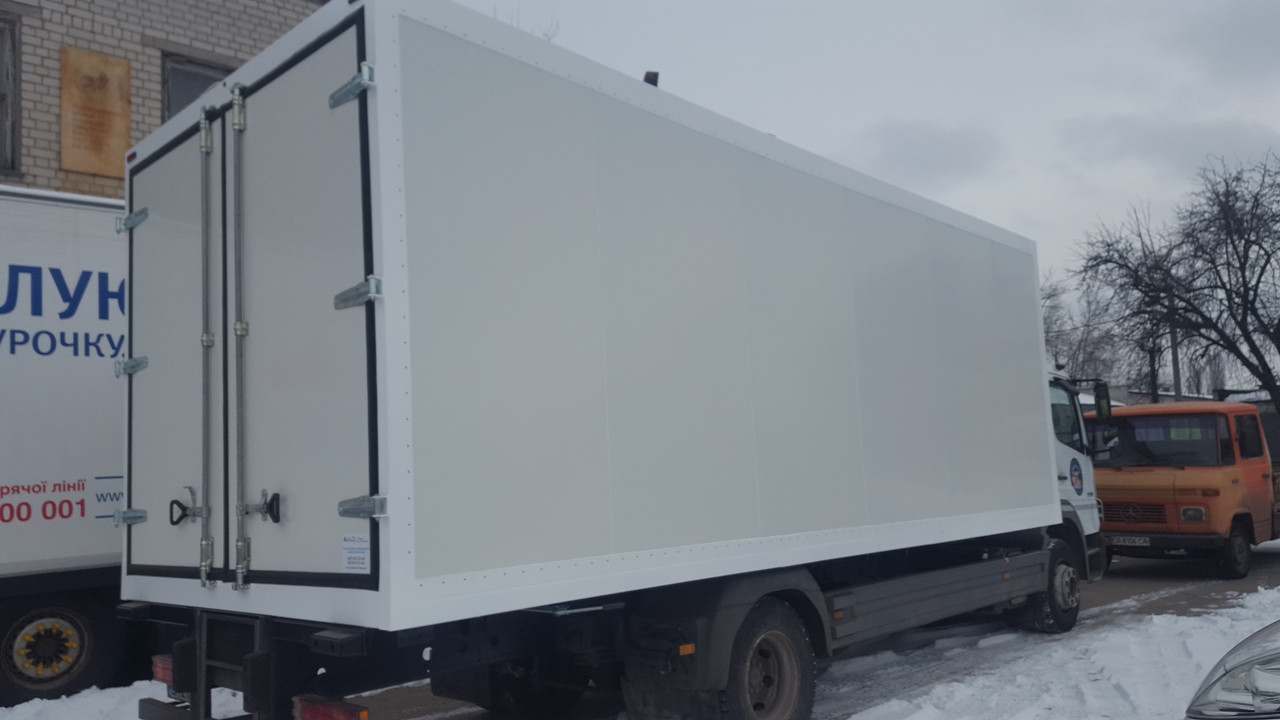 Кузов - фургон сендвич панельный