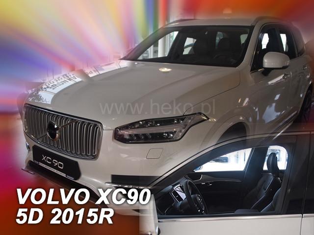 Дефлекторы окон (ветровики)  VOLVO XC 90 2015-> (Heko)