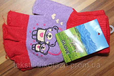 Перчатки подростковые №В-26 без пальцев (уп. 12 шт.), фото 2