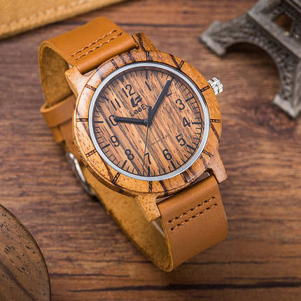 Часы деревянные мужские LeeEv Ast, фото 2