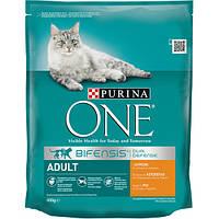 Сухой корм для кошек с курицей Purina One Adult Chicken, 800 гр