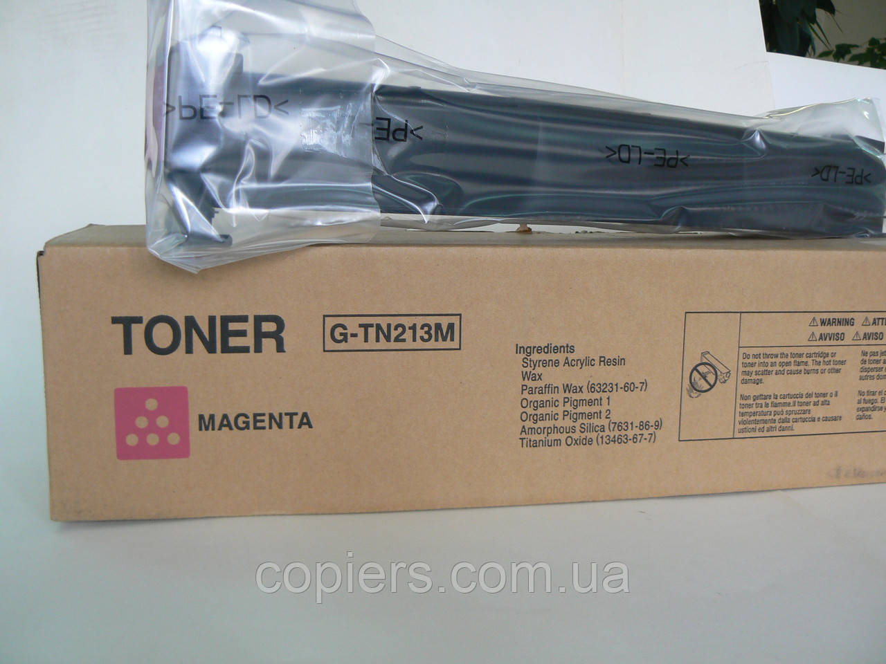 Toner TN213 Magenta bizhub C253/C203,364, оригинальный OCE