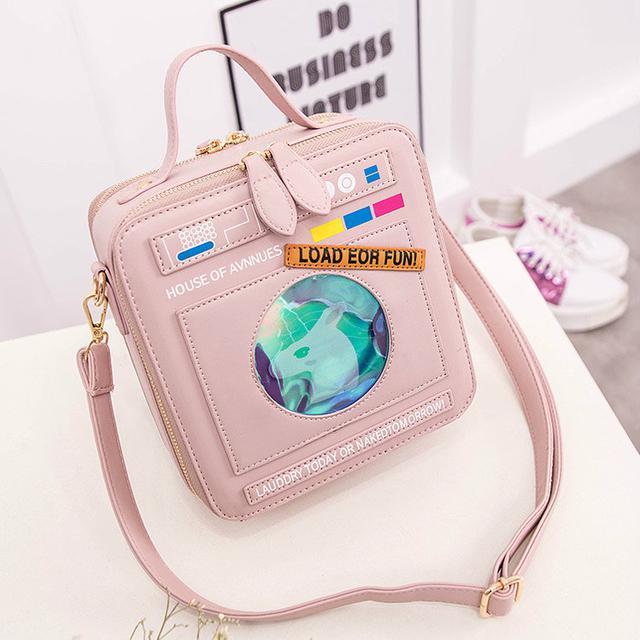 ed07efdc9d52 Молодежная сумка с единорогом. Купить в интернет-магазине Mak-Shop ...