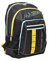 552256 Рюкзак подростковый Oxford ХО76 черный, 42*32*18см Oxford