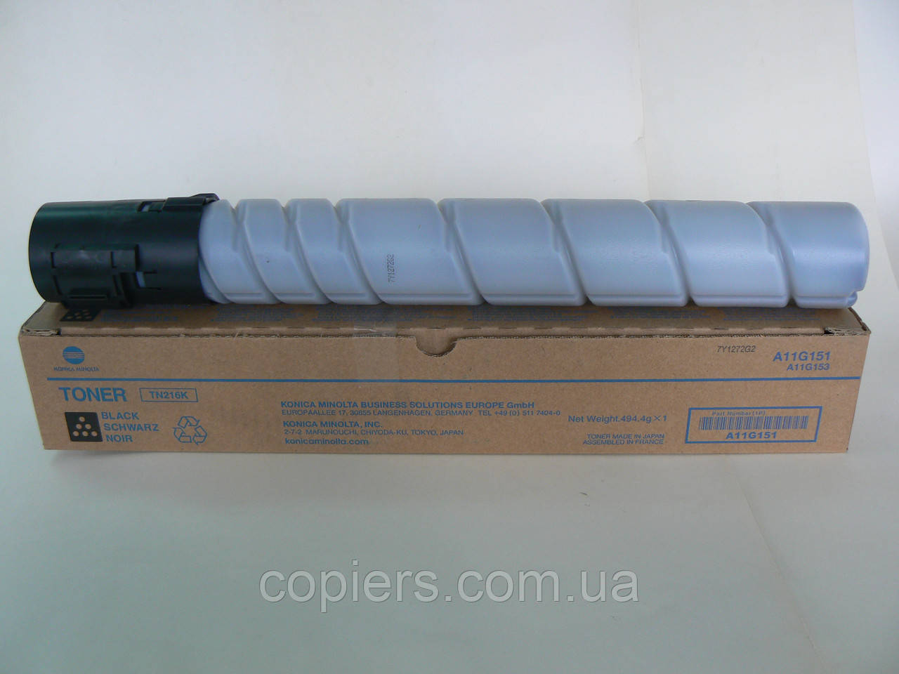 TN216 K тонер картридж Konica Minolta bizhub C220/C280 оригинал