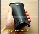 Красивый черный бампер Carbon TPU для Xiaomi Mi Max 2 чехол противоударный мягкий, фото 5