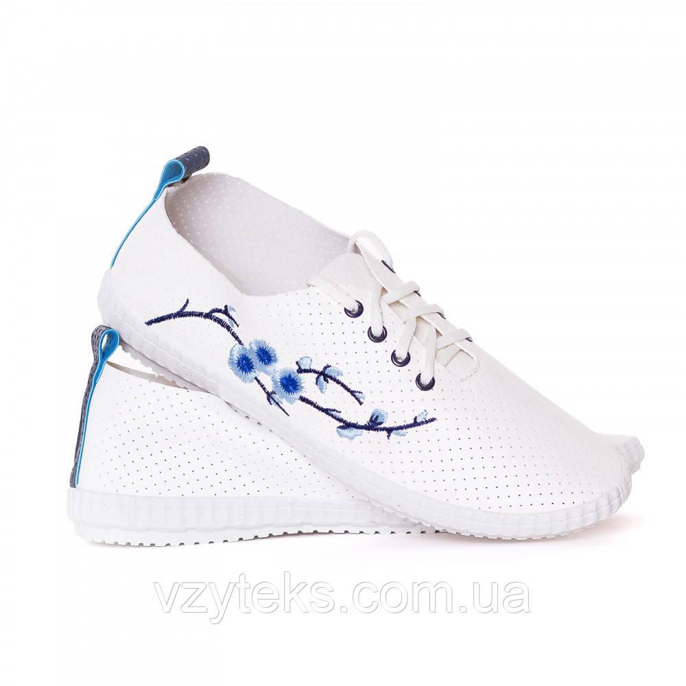 ea82a6274213 Кроссовки женские летние кожзам с вышивкой Гипанис - Центр обуви Взутекс в  Хмельницком