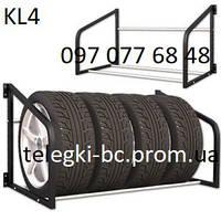 Стеллаж-витрина для хранения колес или шин KL4