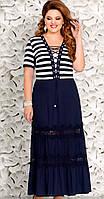 Платье Mira Fashion-4436 белорусский трикотаж