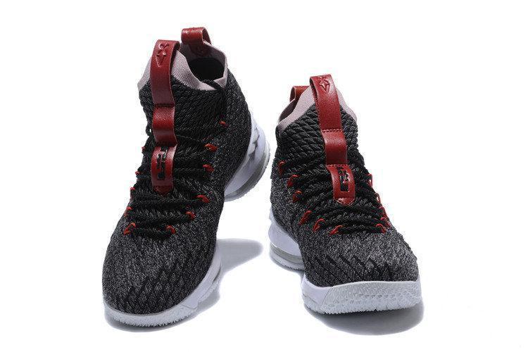 efe065eb Мужские Nike Lebron 15 ep Black/White/Red, цена 1 695 грн., купить в  Харькове — Prom.ua (ID#687622028)