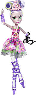 Монстр Хай кукла Моаника Д'Кэй серия Балерина Monster High Ballerina Ghouls Moanica D'Kay