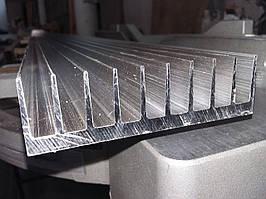 Алюминиевый радиаторный профиль 92*26 мм(БПО-1906) без покрытия