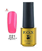 ГЕЛЬ-ЛАК FOX GOLD PIGMENT 021 12 ML