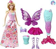 Набор Barbie Барби Сказочное перевоплощение серия Миксуй и Комбинируй