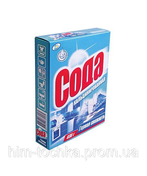 Сода кальцинированная  700 гр  картонная упаковка