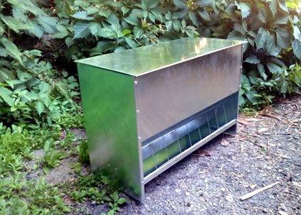 Бункерная кормушка для домашней птицы БК5-2 (50 литров)