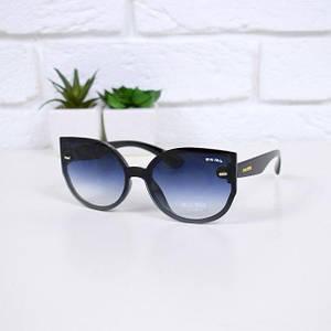 Очки женские от солнца Miu Miu черные 301662 , магазин очков