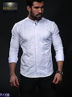 Мужская рубашка (44, 46, 48, 50) —хлопок купить оптом и в Розницу в одессе украина 7км