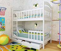 """Кровать двухъярусная детская подростковая от""""Wooden Boss"""" Даниель Плюс (спальное место 80х160)"""