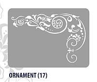 Декоративный шаблон (ORNAMENT #17) Primacol XXL 60 * 44 см