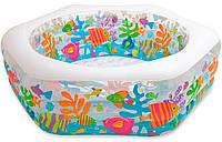 Детский надувной бассейн Океанский риф Intex 56493