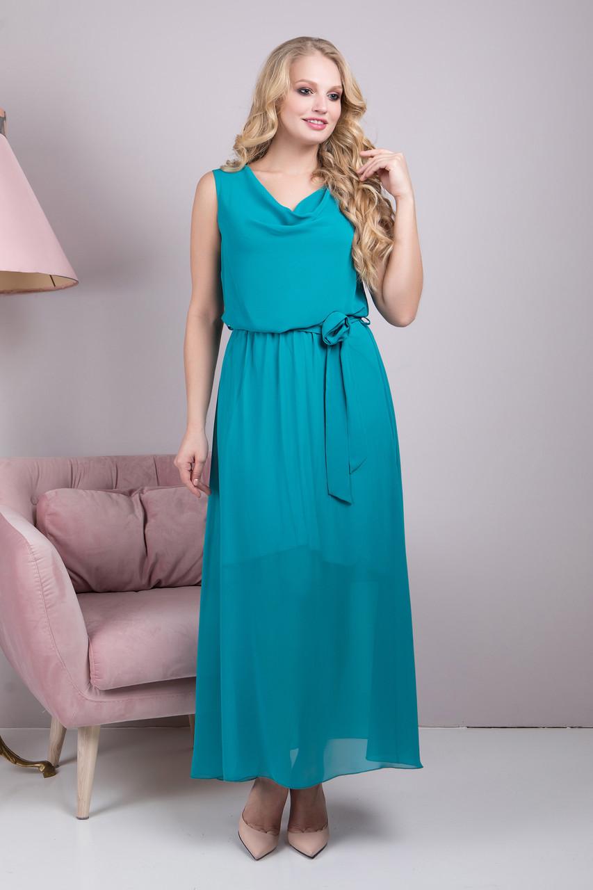 Платье длинное Розитта р 48-54