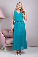Платье длинное Розитта р 48-54, фото 1