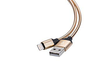 Type-C кабель Gravel RCT-W100, 1m gold Recci CC320063