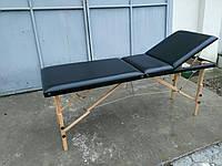 Стол массажный, кушетка для наращивания ресниц, шугаринга 3 СЕКЦИИ ШИРИНА 70см, фото 1