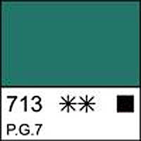 Краска темперная МАСТЕР-КЛАСС изумрудно-зеленая, 46мл ЗХК