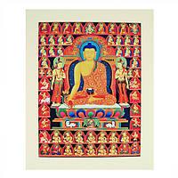 Желтый Будда Медицины принт
