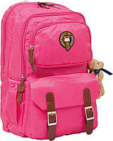 Рюкзак подростковый Х163 Oxford, розовый, 47*29*16см 552555