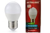 Светодиодная лампа Ultralight G45-7W-Y E27