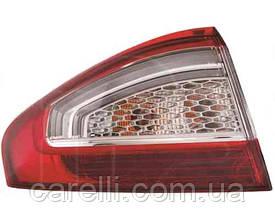 Ліхтар задній для Ford Mondeo sedan '10 - правий (DEPO) зовнішній LED