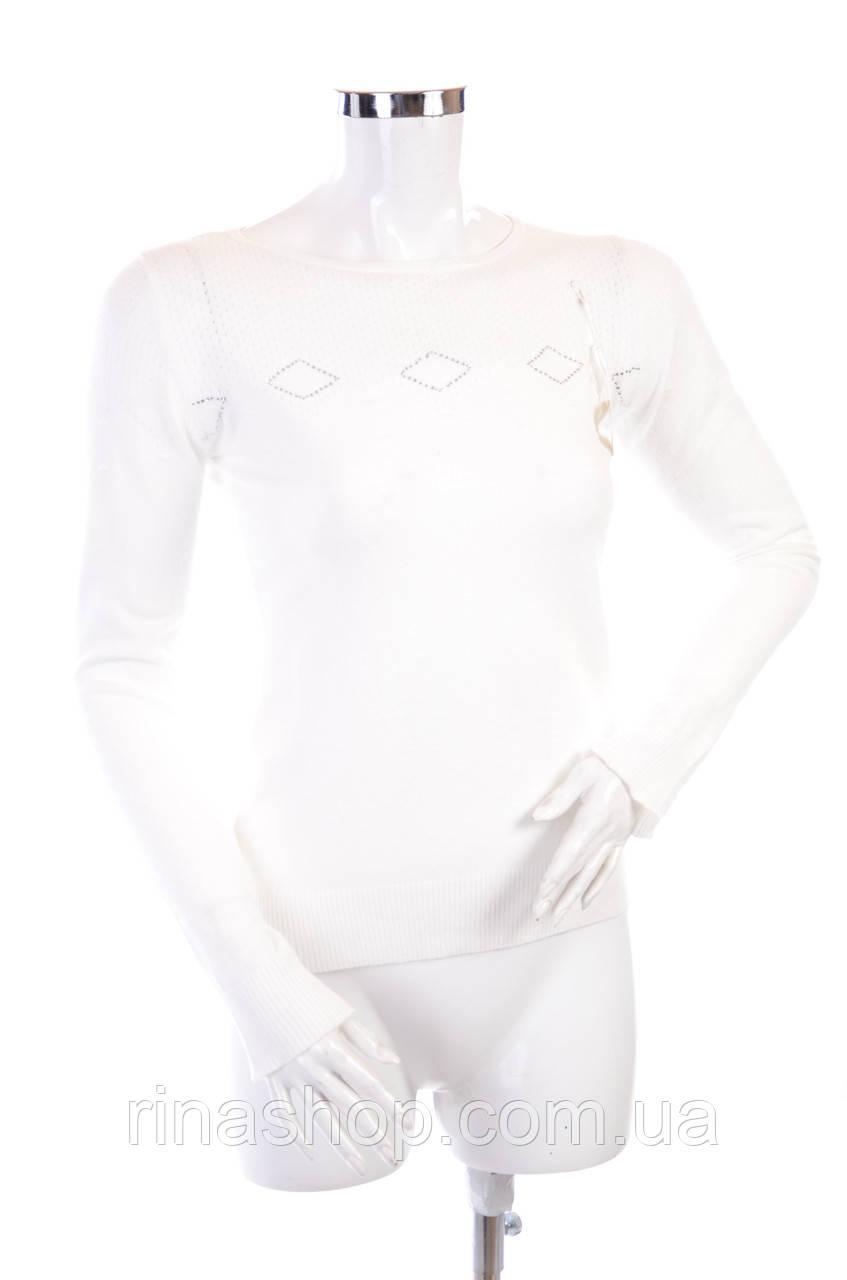 Женская кофта с вырезом X1062