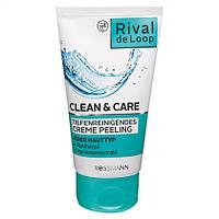 Rival de Loop Clean & Care Tiefenreinigendes Creme Peeling - Крем-скраб для лица