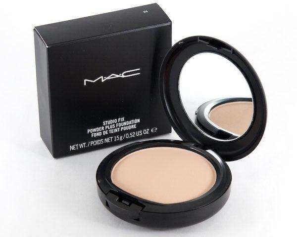 Компактная пудра MAC studio fix powder plus foundation de teint poudre 15g
