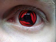 Sharigan линзы, красные линзы, фото 1