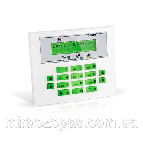 Кодовая клавиатура INT-KLCDL-GR для постановки и снятия с охраны, фото 2