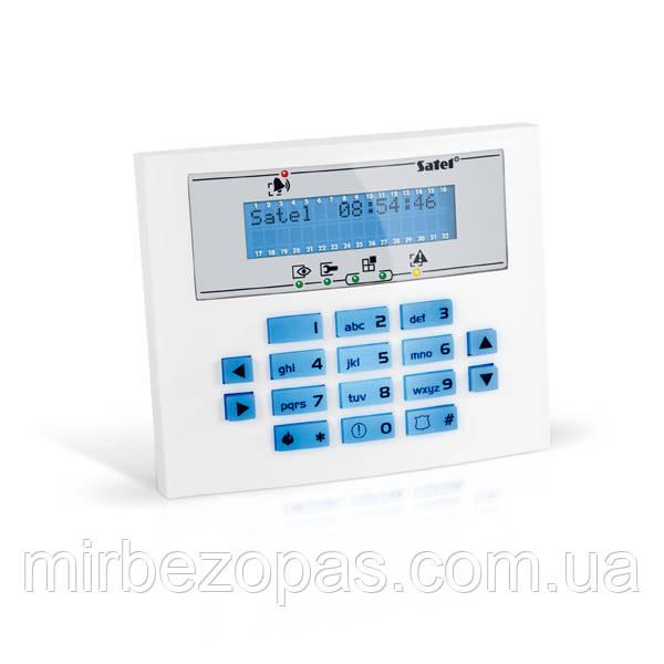 Кодовая клавиатура INT-KLCDL-BL для постановки и снятия с охраны