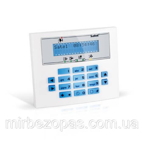 Кодовая клавиатура INT-KLCDL-BL для постановки и снятия с охраны, фото 2