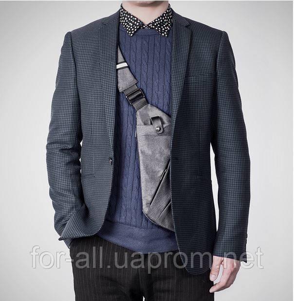 Фото мужская плечевая сумка Crossbody