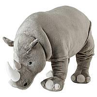"""ИКЕА """"ДЖАНГЛСКОГ"""" Мягкая игрушка, носорог, 60 см."""