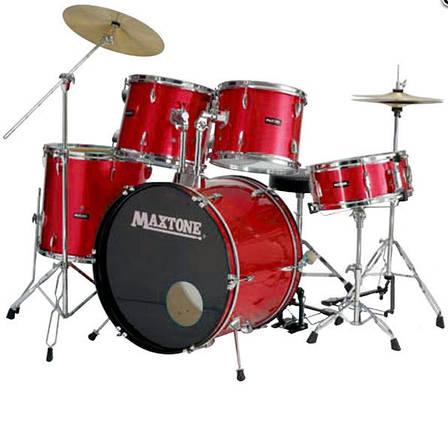 Барабанная установка MAXTONE MXC110 (Red), фото 2