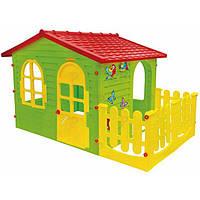 Детский игровой домик Garden House с террасой, фото 1